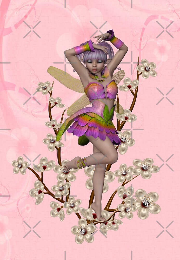 Spring fairy by LoneAngel