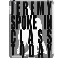 Jeremy in Class iPad Case/Skin