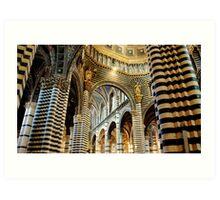 Duomo, Siena Art Print