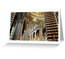 Duomo, Siena Greeting Card