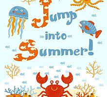 Jump into summer! by Elsbet