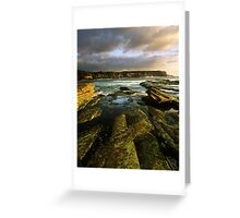"""""""Cliff to Cliff"""" ∞ Little Bay, NSW - Australia Greeting Card"""