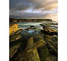 """Cliff to Cliff"" ∞ Little Bay, NSW - Australia Photographic Print"