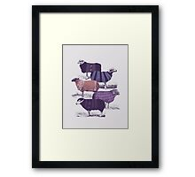 Cool Sweaters Framed Print