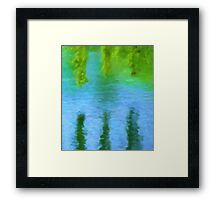 Willow Water Framed Print