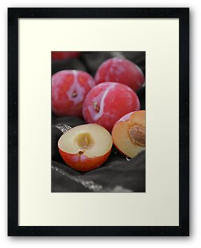Plums by Jeanne Horak-Druiff