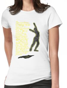 Time is a Dancer Tee Womens Fitted T-Shirt