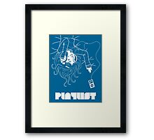 Playlist Framed Print