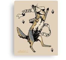 Have Lots of Fun Canvas Print