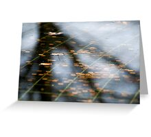 Fall, Korean War Veterans Memorial, Washington D.C. Greeting Card