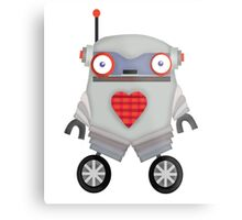Robot Monster Metal Print
