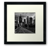 Dark Illusions Framed Print