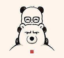 Panda And Polar Bear by Panda And Polar Bear