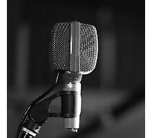 Microphone Photographic Print