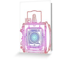 Vintage Photography - Graflex (Multi-colour) Greeting Card