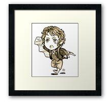 Chibi Bilbo Framed Print