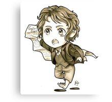 Chibi Bilbo Canvas Print