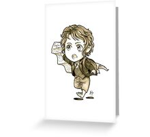 Chibi Bilbo Greeting Card