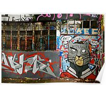 France Graffiti II Poster