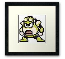 toad man Framed Print