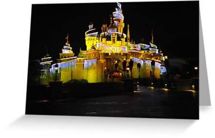 The Sleeping Beauty Castle. Disneyland, Hong Kong. (2) by Ralph de Zilva