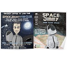 Space Jimmy Significant Mother music video - Comic Book scene Poster