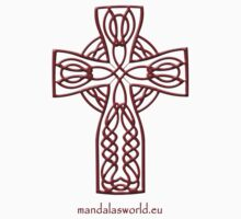 Celtic Cross n4 Brown by Mandala's World