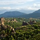 Rocky landscape by Vasil Popov