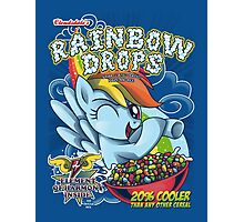 Rainbow Drops - Total Awesome! Photographic Print