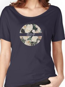 Flower Child Tee Women's Relaxed Fit T-Shirt