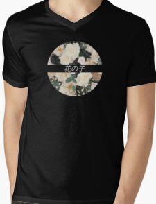 Flower Child Tee Mens V-Neck T-Shirt