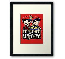 Another MOTHER - Ness & Ninten Framed Print