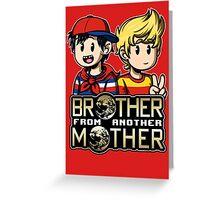 Another MOTHER - Ninten & Lucas (alt) Greeting Card