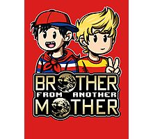 Another MOTHER - Ninten & Lucas (alt) Photographic Print