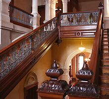 Stairway to Heaven - Barwon Mansion - Winchelsea by Geoffrey  Watson