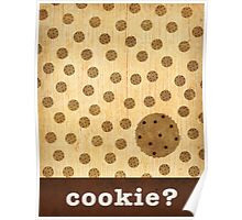 Kitchen Art - Cookie Poster