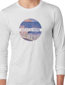 Death-Yon Pale Wave Tee Long Sleeve T-Shirt