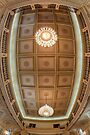 Queensland Parliament Ceiling  Brisbane  Australia by William Bullimore