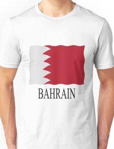 Bahrain flag Unisex T-Shirt