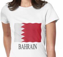 Bahrain flag Womens Fitted T-Shirt