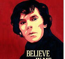 Believe in Sherlock Holmes by ArtSandra