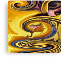 Untitled Abstract 58-  art/ Clothing +Products Designd  Canvas Print