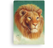 The King of the Jungle Canvas Print