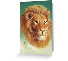 The King of the Jungle Greeting Card