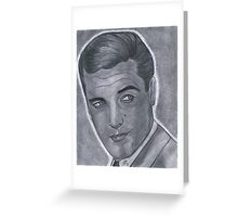 Roger Moore Greeting Card