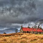 The Red Roof (2) by Karl Williams