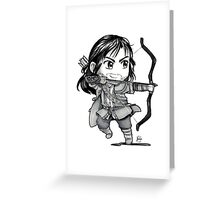 Chibi Kili Greeting Card