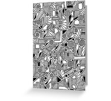 Doodler Greeting Card