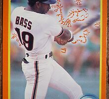 086 - Kevin Bass by Foob's Baseball Cards