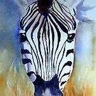 Zebra iPhone case by Ruth S Harris